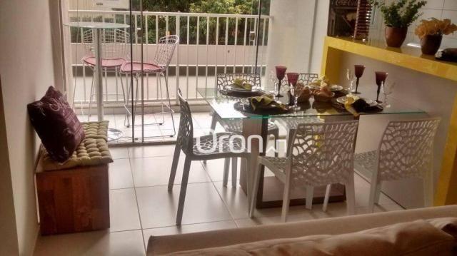 Apartamento com 3 dormitórios à venda, 72 m² por R$ 275.000,00 - Jardim Nova Era - Apareci - Foto 3