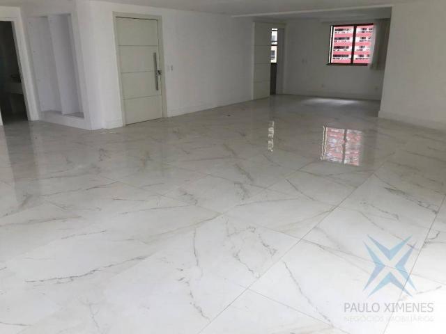 Apartamento com 4 dormitórios à venda, 357 m² por r$ 2.680.000,00 - meireles - fortaleza/c - Foto 11
