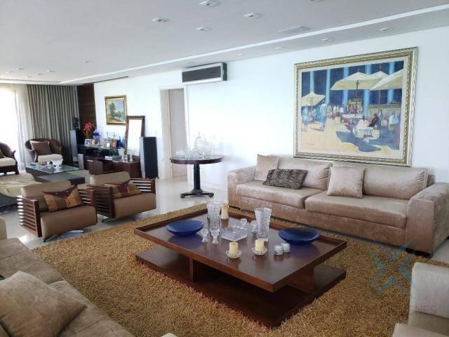 Apartamento alto padrão para alugar, 550 m² por r$ 20.000/mês - meireles - fortaleza/ce - Foto 16