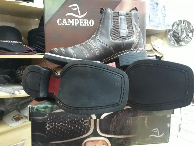 Bota Campero® de Couro NOVA - Foto 2