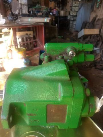 Bomba hidráulica do trator John Deere - Foto 4