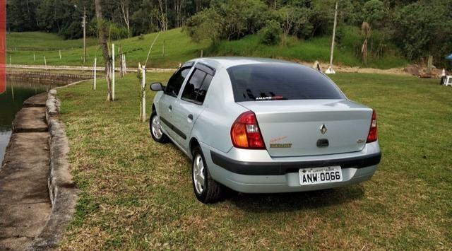 Renault Clio 1.6 16v 2004 completo - Foto 3