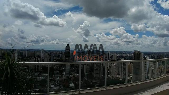 Apartamento com 1 dormitório para alugar, 42 m² por R$ 2.000,00/mês - Setor Oeste - Goiâni - Foto 2