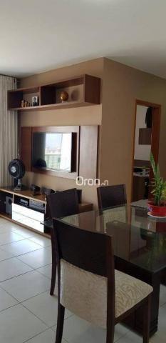 Apartamento com 2 dormitórios à venda, 69 m² por r$ 299.000,00 - setor pedro ludovico - go - Foto 6