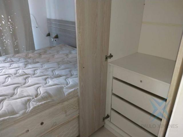 Apartamento com 1 dormitório à venda, 48 m² por r$ 300.000 - praia de iracema - fortaleza/ - Foto 16