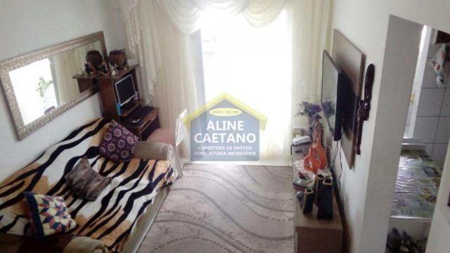 Apartamento à venda com 1 dormitórios em Guilhermina, Praia grande cod:AC927 - Foto 11