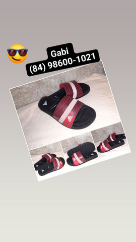 Chinelo slide Adidas n° 36 37 38 39 40 41 42 43 44 - Foto 2