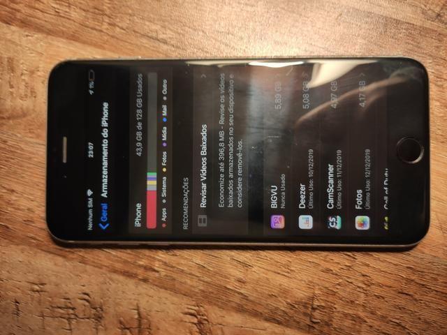 IPhone 6S Plus 128Gb (somente venda) - Foto 6