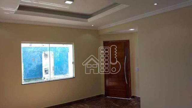 Casa com 3 dormitórios à venda, 130 m² por R$ 550.000,00 - Itaupuaçu - Maricá/RJ - Foto 4