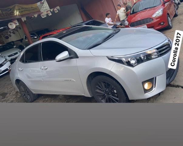 Corolla 2017 gli automático quitado emplacado - Foto 4