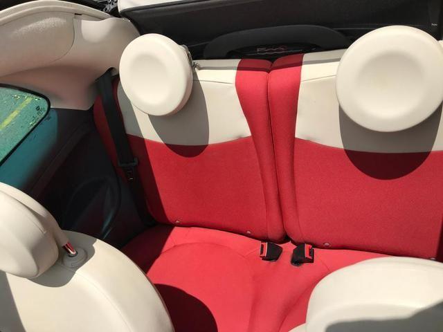 Fiat 500 cabriolet 2014 ( conversível ) automático completo muito novo confira!!!! - Foto 14