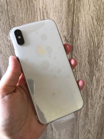 IPhone x 64GB silver nos Plasticos !