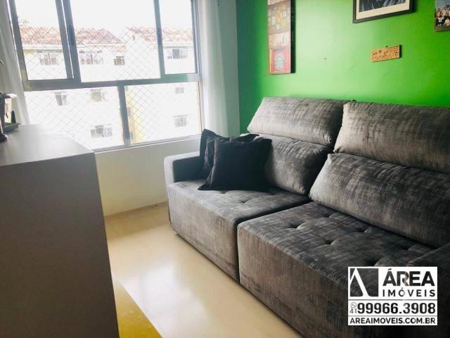 Apartamento com 2 dormitórios à venda, 62 m² por R$ 205.000 - Santa Quitéria - Curitiba/PR - Foto 2
