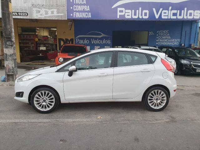 New Fiesta 1.6 2014 Titanium automático Top - Foto 9