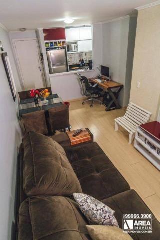 Apartamento com 3 dormitórios à venda, 62 m² por R$ 211.000 - Santa Quitéria - Curitiba/PR - Foto 3