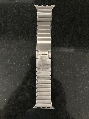 Pulseira Aço Inox Para Apple Watch 38mm