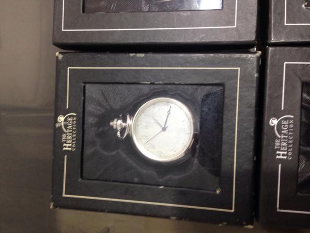 12 relógios de bolso Heritage - Foto 4