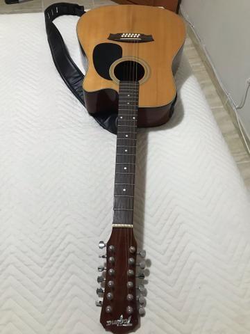 Vendo violão Tagima 12 cordas - Foto 3