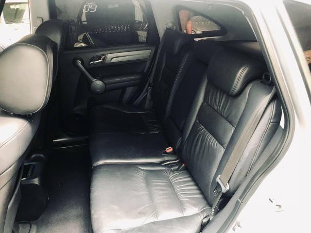 CR-V top de linha automático e brancos de couro - Foto 8