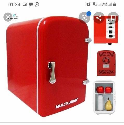 Mini geladeira portátil