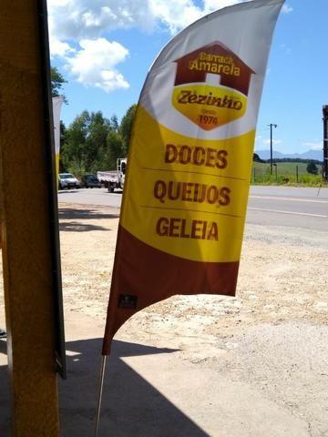 Wind banner e Tapete personalizado - Foto 4