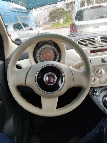 FIAT 500 DUAL 1.4 COMPLETO ANO 2012 - Foto 9