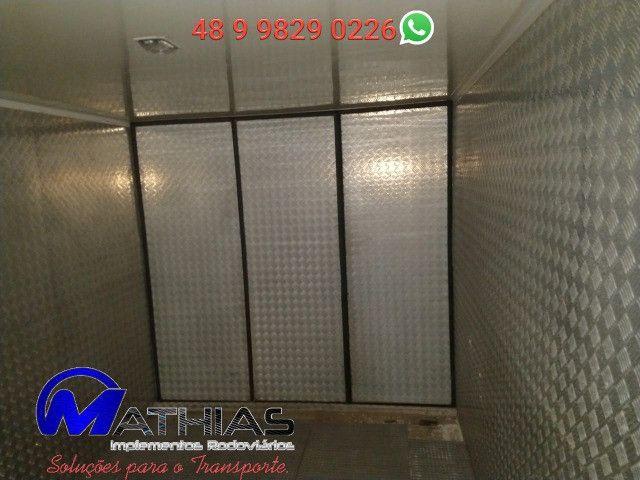 Bau pavan usado 5.50m com ap de frio acoplado e eletrico Mathias Implementos - Foto 4