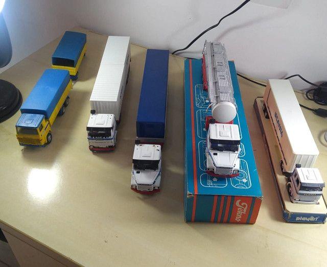 Caminhões miniatura scania  - Foto 3