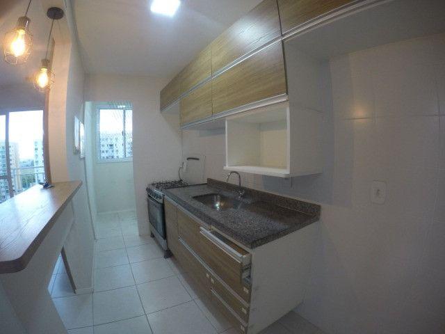 Villaggio Laranjeiras - 2 quartos com armários e ar condicionado na suite - Foto 6