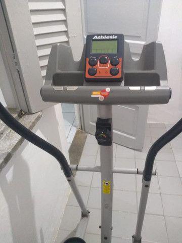 Aparelho de Ginastica/Simulador de Caminhada/Eliptico Athletic - Foto 4