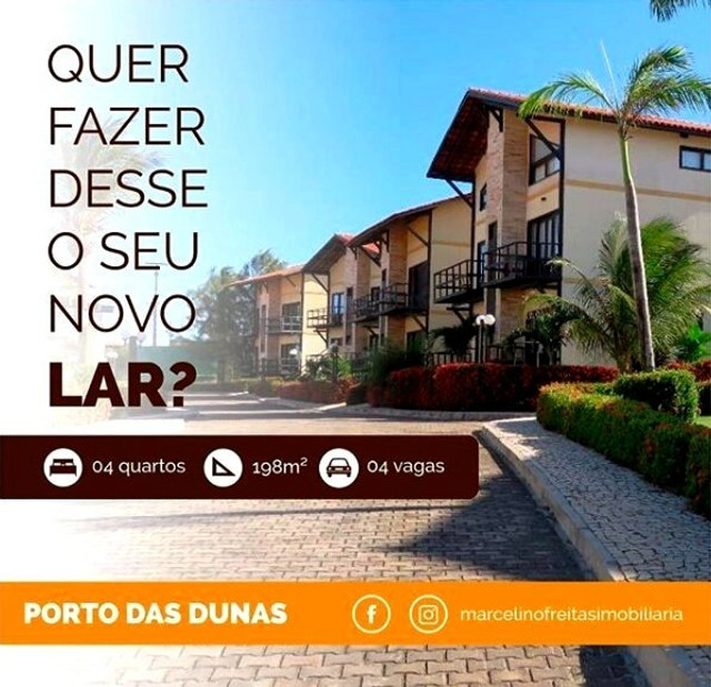 Casa no Porto das Dunas para Final de semana