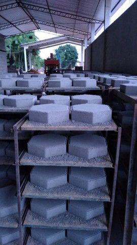 Blocos de concreto, Tubo de concreto, Estrutura Galpão Premoldado  - Foto 3