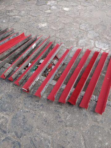 Jogo de Cantoneiras de aço forradas chapa 14 (Promoção) - Foto 3