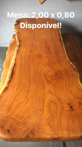 Mesa de madeira  - Foto 6