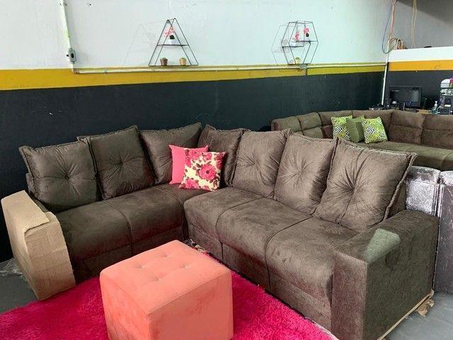 Sofaa novos peças avulsa apartir  de 399 - Foto 5