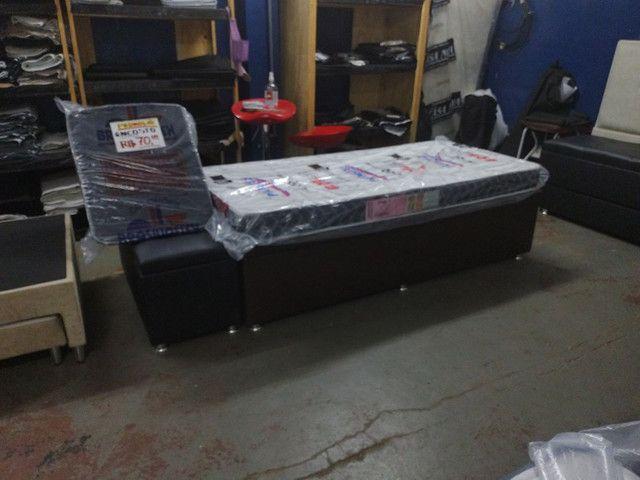 # Diskcamas -- Colchões e cama Box baú e cabeceiras é aqui !!!!  - Foto 6