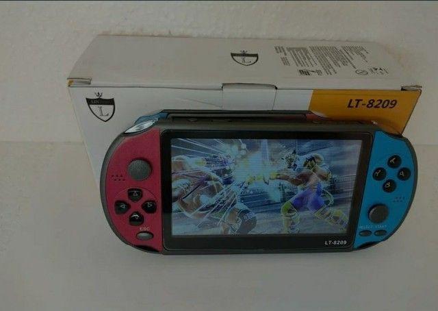 PSP Vídeo Game Portátil Mp3 Mp5 Retrô Tela 5.1 Polegadas - Foto 2