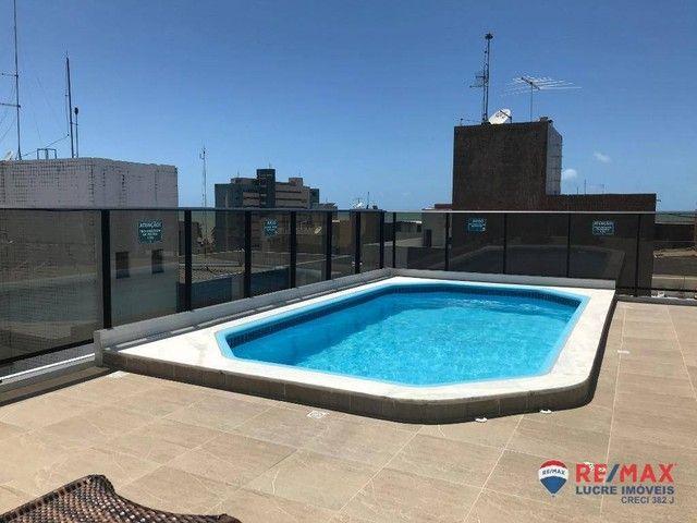 Apartamento com 1 dormitório para alugar, 39 m² por R$ 1.900,00/mês - Cabo Branco - João P - Foto 18