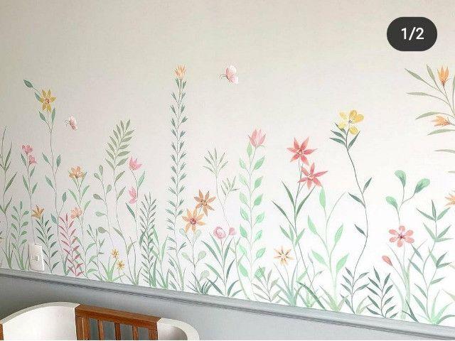 Papel de parede infantil (leia o anuncio) - Foto 2