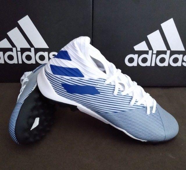 Chuteira Adidas Nemeziz 19.3 TF Tam 38 & 39 (original / nova) - Foto 4