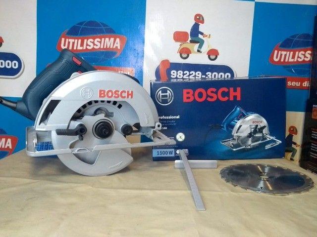 Serra Circular Bosch GKS150 1500W ? Entrega grátis  - Foto 5