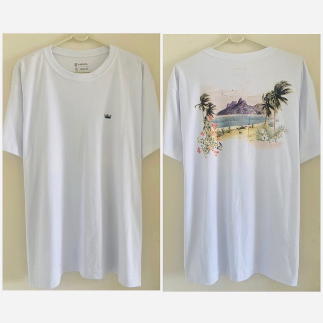 Camisetas Osklen originais malhões big shirts novas  - Foto 6