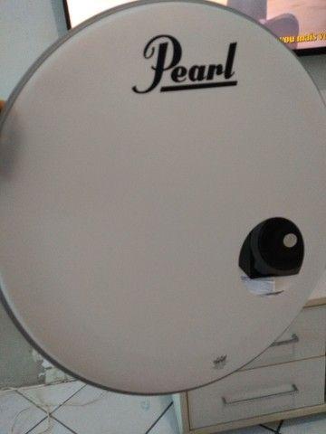 Pele  de Resposta Pearl by Remo 22'' - Foto 2