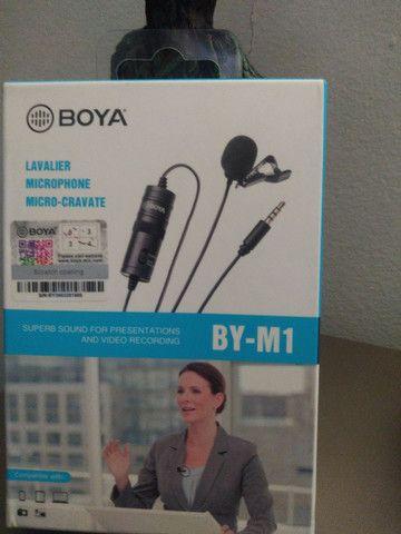 Microfone de Lapela- BOYA//BY-M1 - Foto 3