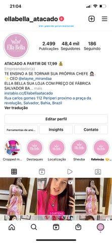 ELLA BELLA ATACADO SUA LOJA COM PREÇO DE FÁBRICA