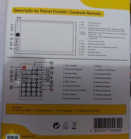 Central multimídia 2Din - Foto 3