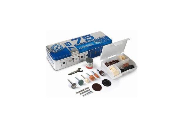 Kit de Acessórios para retifica uso geral com 75 peças 26150707AC Dremel