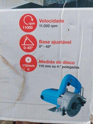 Serra mármore GAMMA 1.300W - Foto 2