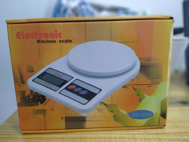 balança de cozinha digital de 10kg (novo) - Foto 3