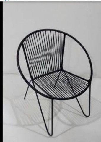 Reformo cadeira de macarrão  - Foto 2